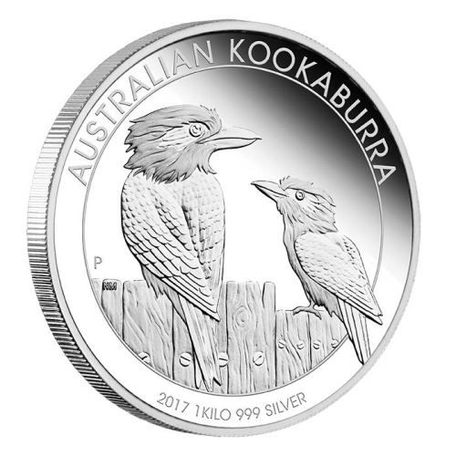 Australian Kookaburra 2017 1kg Silver Proof Coin | The Perth Mint