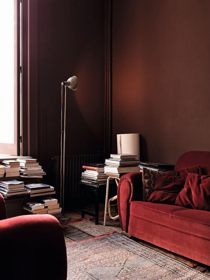 Farbe Des Jahres Einrichtung Farbig Wohnzimmer Wohnen Zuhause Pantone 2015 Rot