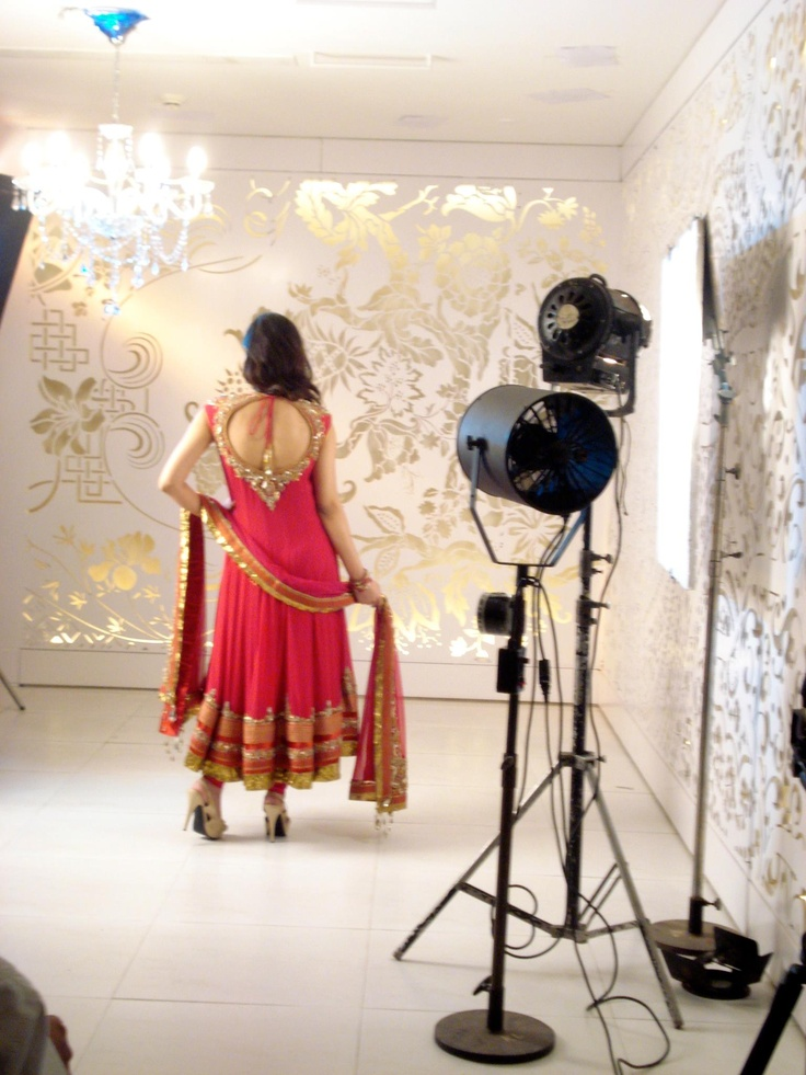 love the back of this anarkali! a Manish Malhotra creations..