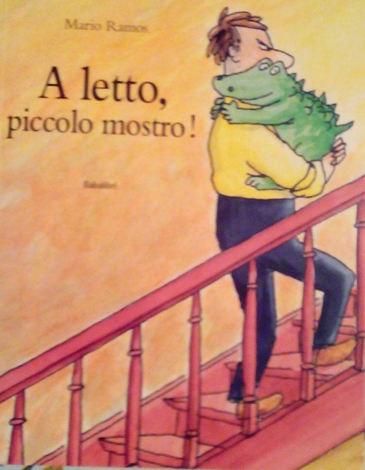 """Cosa succede se il vostro piccolo mostro non vuole andare a letto? """"A letto, piccolo mostro"""" di Babalibri racconta ciò che che capita spesso in tante famiglie all'ora della nanna ma con un finale a sorpresa che farà addormentare i vostri bambini con il sorriso sulle labbra!  Libri per bambini.  Libri per la festa del papà."""