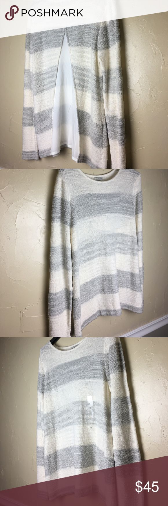 ❌SALE❌Calvin Klein Jeans XL sweater Beautiful Calvin Klein Jeans sweater blouse ; thick as a user but can be used as a blouse. Super soft with beautiful detail on the Back see as shown in the pictures. Calvin Klein Jeans Tops Blouses