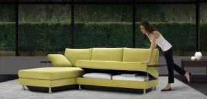 Captivate Leather Sofa With Storage