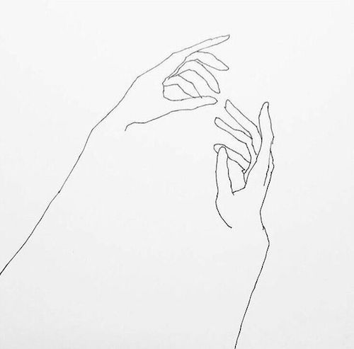Frederic Forest drawings of hands