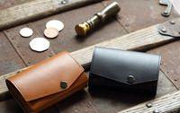 小さい財布 abrAsus ブッテーロレザーエディション