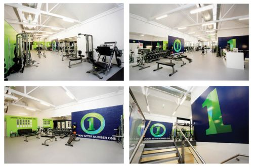 First Class Fitness gym branding and fit out. #Humperdink