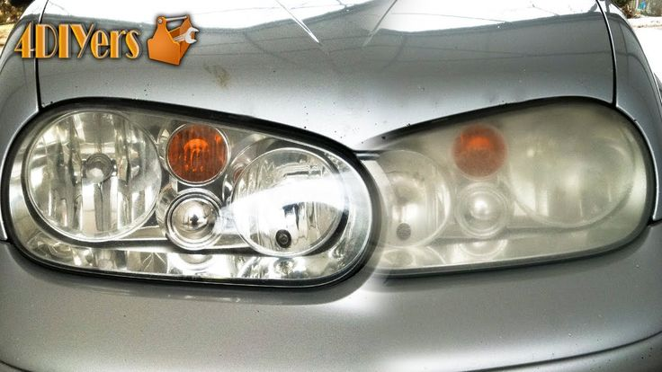 how to clean my car headlights