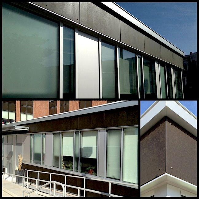 Richlite Boulder Bronze Rainshadow System Insalled On Hampstead Hill Academy In Baltimore