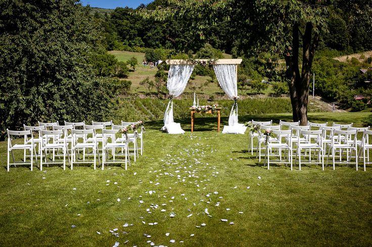 Sára & Vašek 1.8.2015 | Wedding Ceremony, Arch