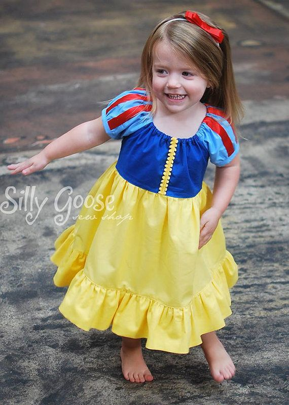 Snow White Dress everyday princess PDF Pattern by madeformermaids