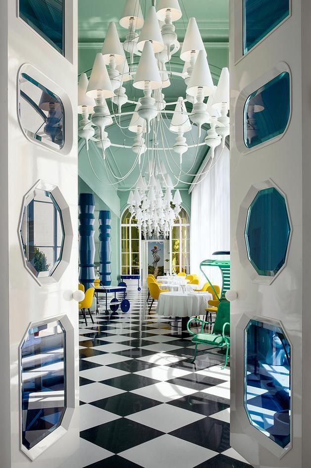 La Terraza Del Casino Madrid Spain Luxury Restaurant Luxury