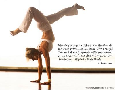Shiva Rea - yoga teacher