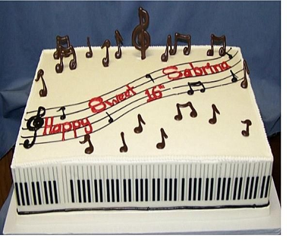Cake Design Musical Notes : 1000+ images about Wedding cakes on Pinterest Seashell ...