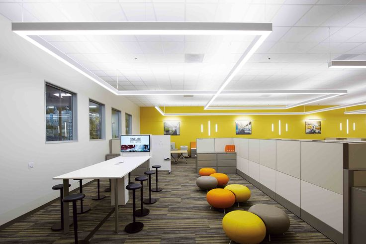 Office lighting collaboration ceilings led blankets homemade ice