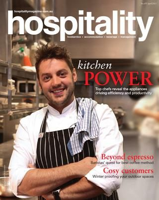 Hospitality Magazine April 2013  Hospitality Magazine covers issues about the hospitality Industry such as foodservice, accommodation, beverage and management