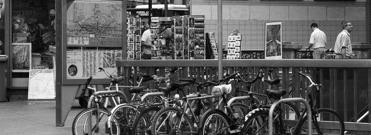 Mapas en GPS, para descargar y recorrer la ciudad de Barcelona en bicicleta.