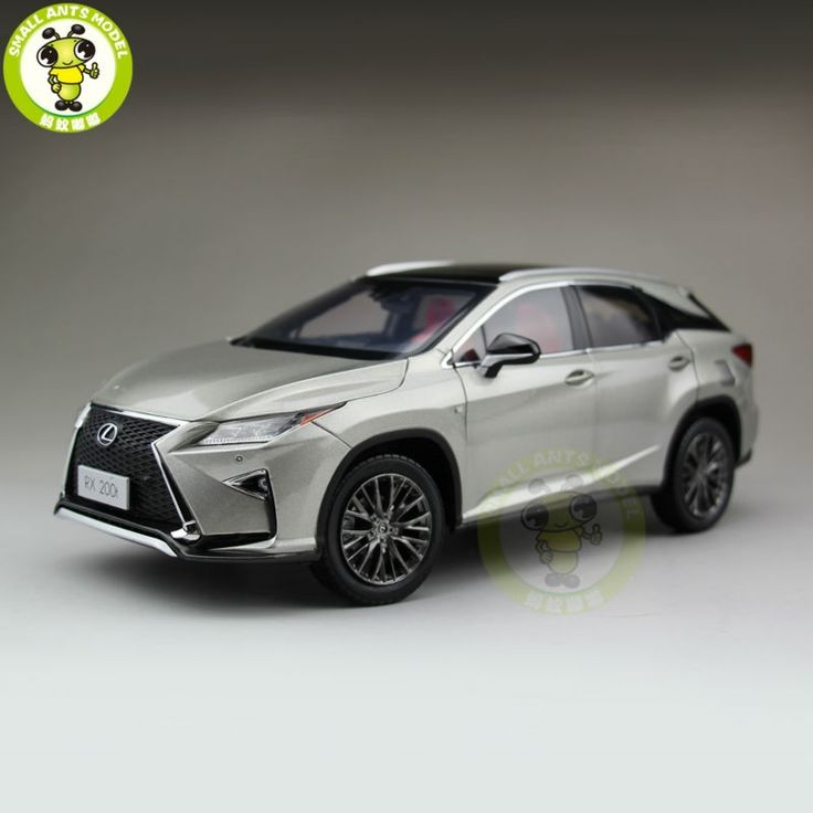 161.50$  Buy here - http://alii5q.worldwells.pw/go.php?t=32703445572 - 1/18 Toyota Lexus RX 200T RX200T Diecast Model Car Suv hobby collection Gifts Silver 161.50$