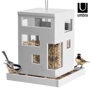 Umbra Bird Café Feeder - contemporary - Bird Feeders - Red Candy