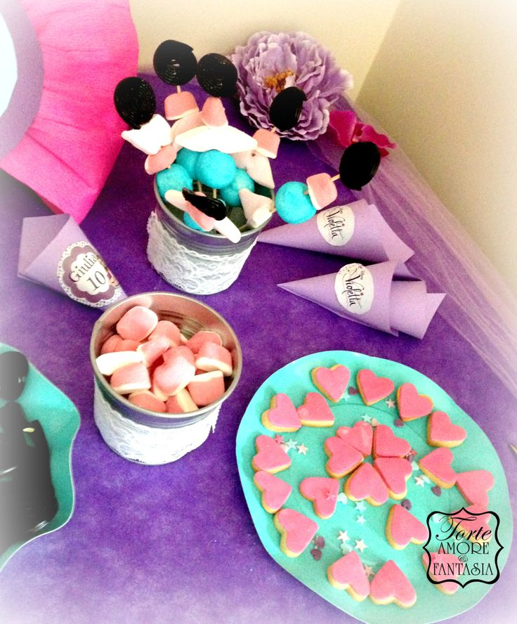 Candy Bar Violetta Party!