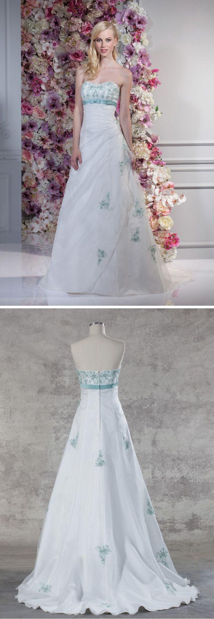 Großartig Brautkleid Mit Türkis Galerie - Hochzeit Kleid Stile Ideen ...