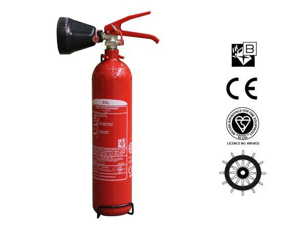 Dräger CO2 Extinguisher 2 kg B. Produced by Bavaria / Col X-K 2