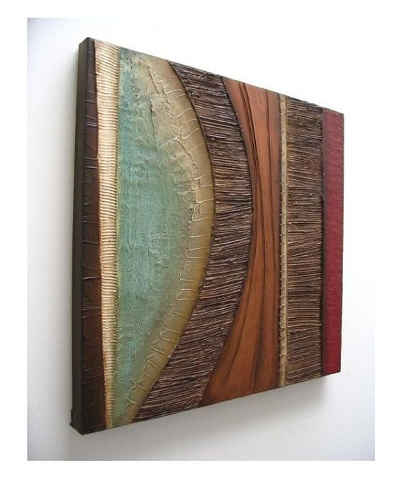 36 Abstract painting MODERN textured wall by 360ArtStudio on Etsy
