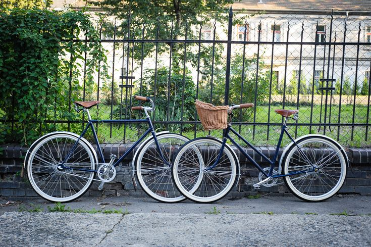 Twins :) - Recycled old czech bikes as wedding gift - Brooks saddles / Shimano Nexus 3 / Sturmey Archer cranks / Schwalbe tyres / Remerx rims / Stus-Eggo leather mudflaps / etc. Bikes are used in Paris :)