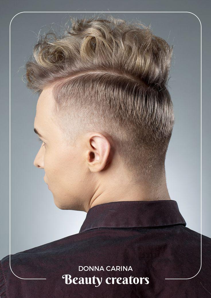 Tunsori si culoare par barbati #haircut #color #donnacarina #beautycreators
