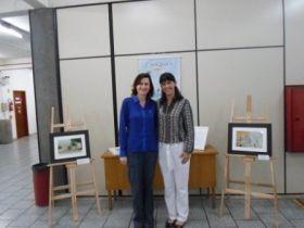Hall da Câmara recebeu exposição de Marisete Facchini - Rádio Sentinela do Vale - Gaspar | Santa Catarina