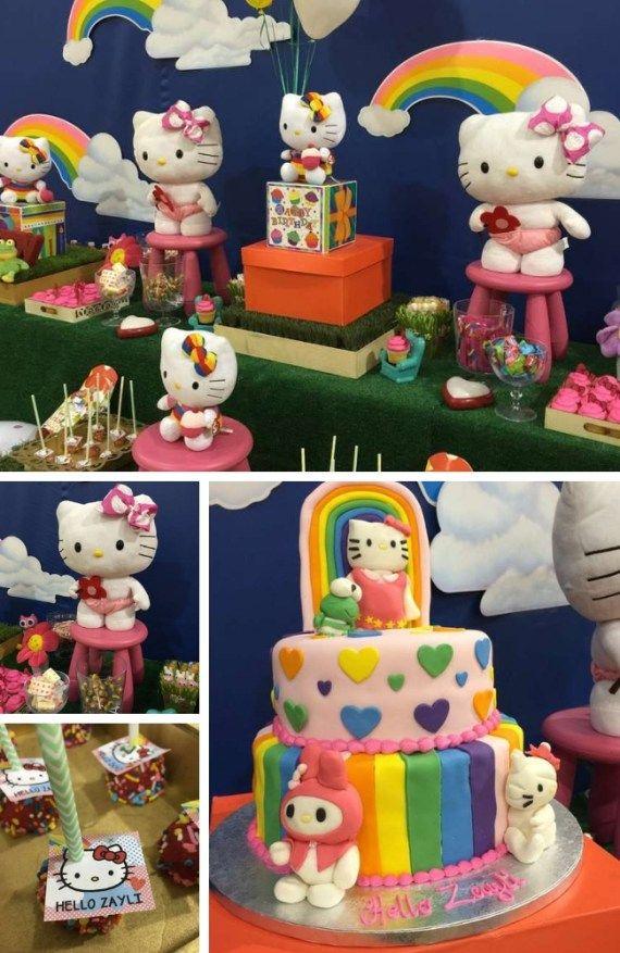 Hello Kitty Party Inspirations Hello Kitty Themes Cat Party