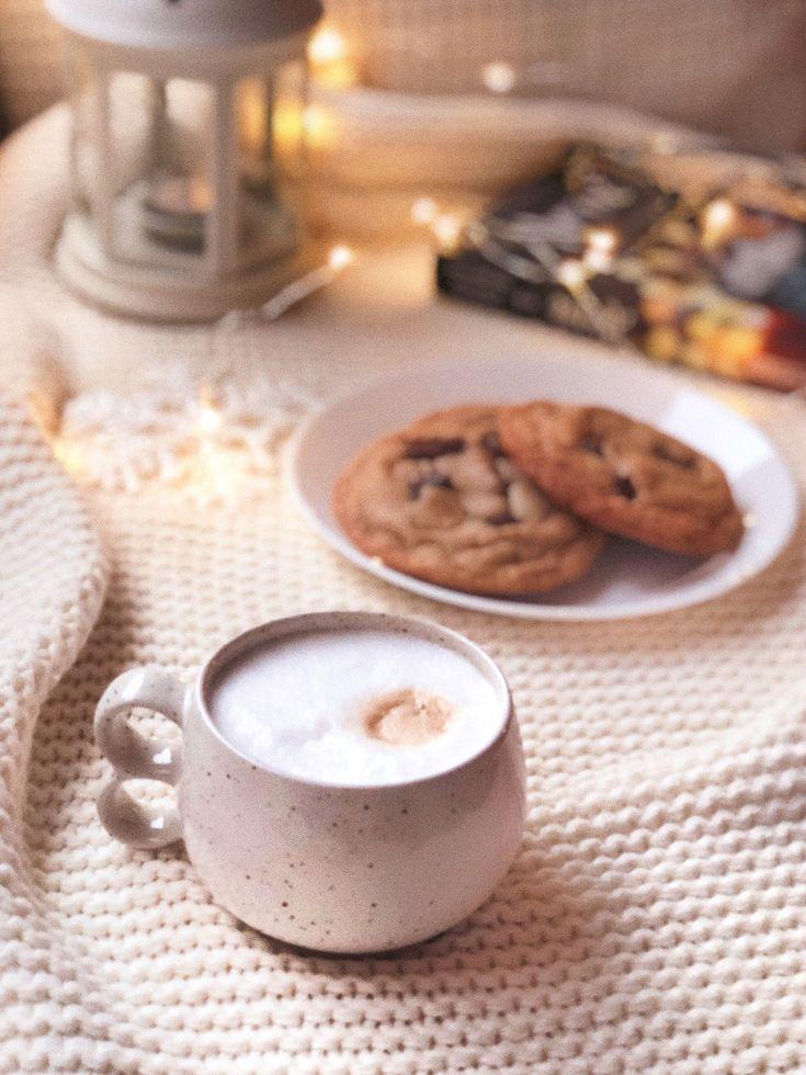 Доброе утро субботы в картинках в бежевых тонах завтрак