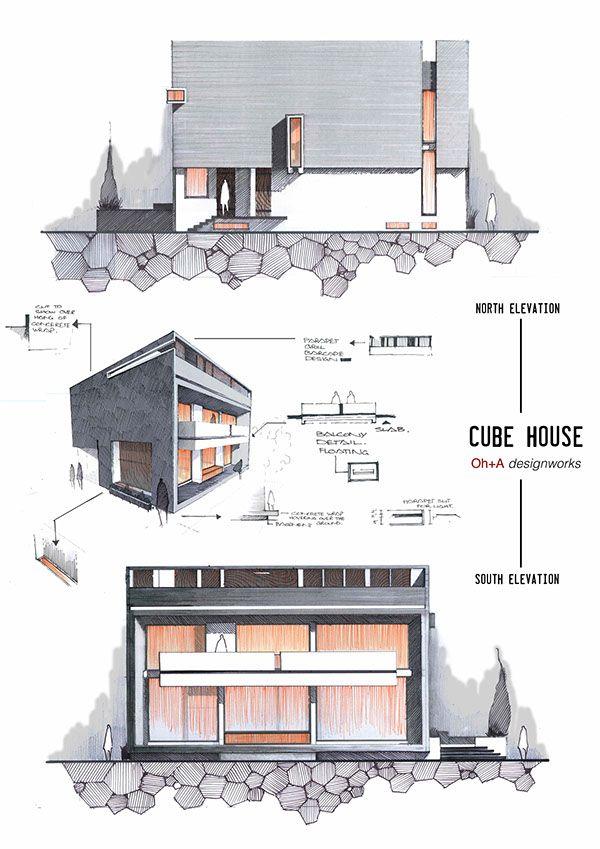 Anique Azhar |令人驚豔的建築手繪技法 | Foot Work︱ 走思客設計圖誌