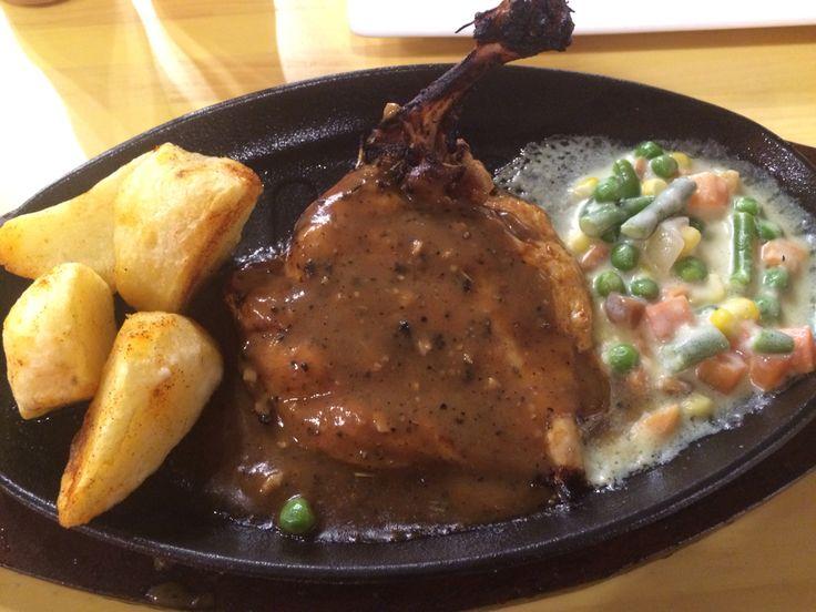 Chicken teriyaki steak #lunch #dinner