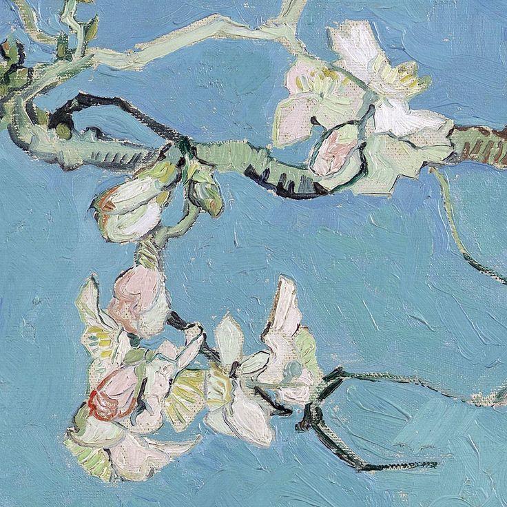"""Almond Blossom (detail) - Vincent van Gogh """