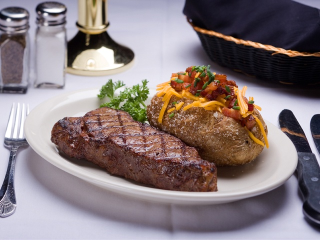 St Elmo's Steak House in Indianapolis has been in business for over 100 years! Idk why but I have a craving to go and try it out!