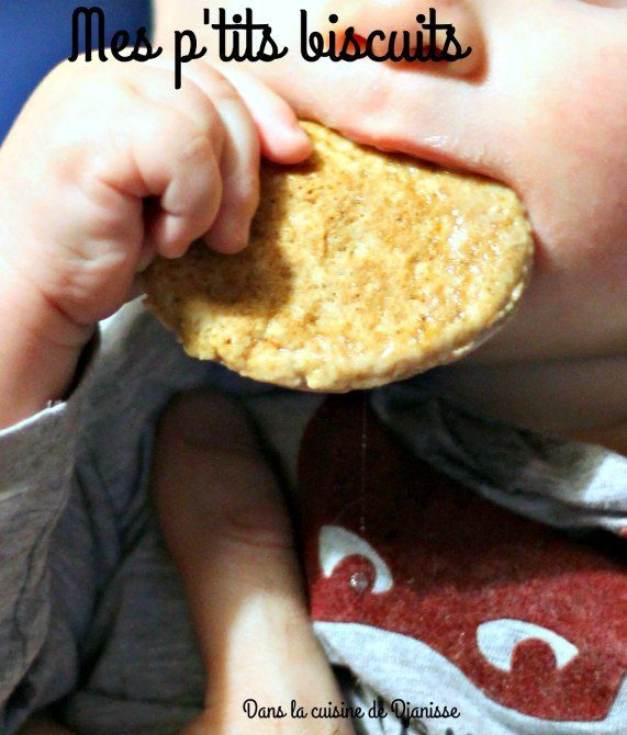 Mon premier biscuit vegan dès 8/9 mois
