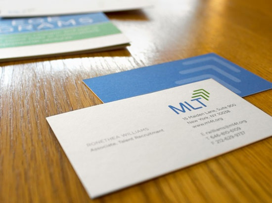 MANAGEMENT LEADERSHIP FOR TOMORROW MLT BUSINESS CARDS