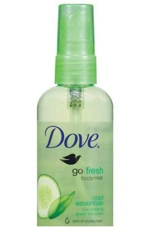 Dove Go Fresh Body Mist Cool Essentials Cucumber & Green Tea 1 oz (3 Pack) A refreshingly light sensation that's an uplifting moment for your skin¿the crisp, soothing scent of cucumber & green tea¿as a final  Read more http://cosmeticcastle.net/fragrance/dove-go-fresh-body-mist-cool-essentials-cucumber-green-tea-1-oz-3-pack  Visit http://cosmeticcastle.net to read cosmetic reviews