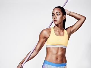 Katarina Johnson-Thompson workout