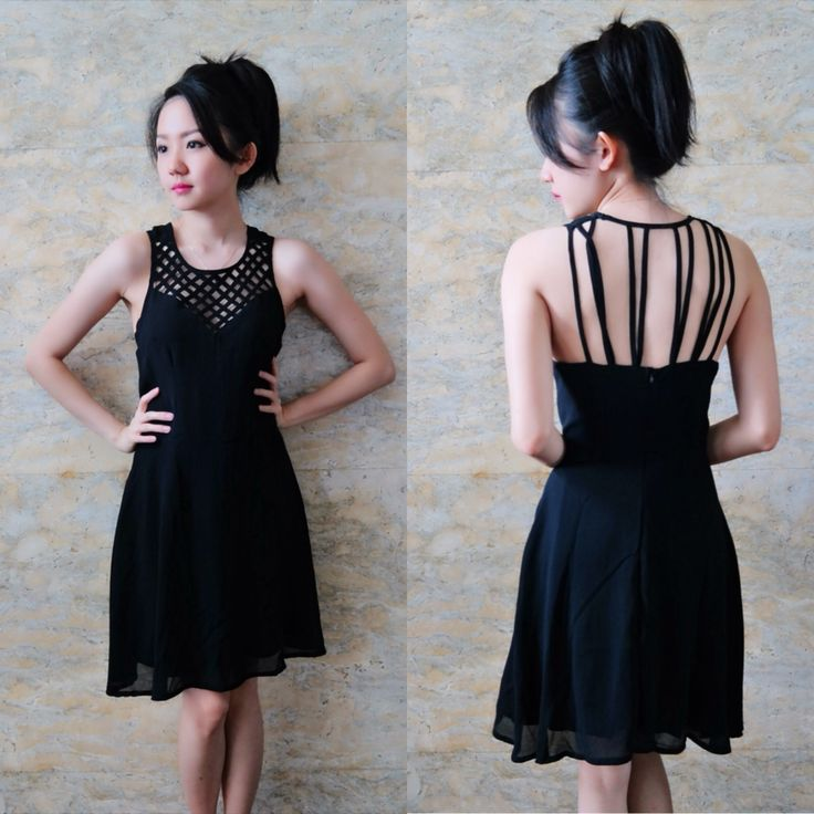 Petty strong black dress/bust up to 94/length 84/240k/ Email: order@fellinboutique.com, LINE: FellinBoutique, BBM: 7637D27C