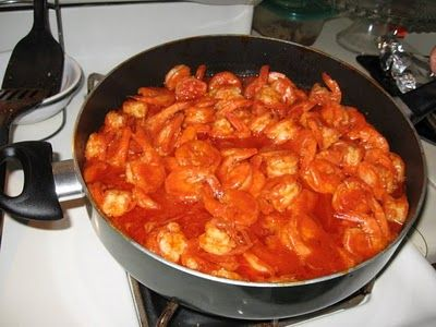 Mexican Family Recipes: CAMARONES A LA DIABLA: FINGER-LICKIN' GOODNESS!