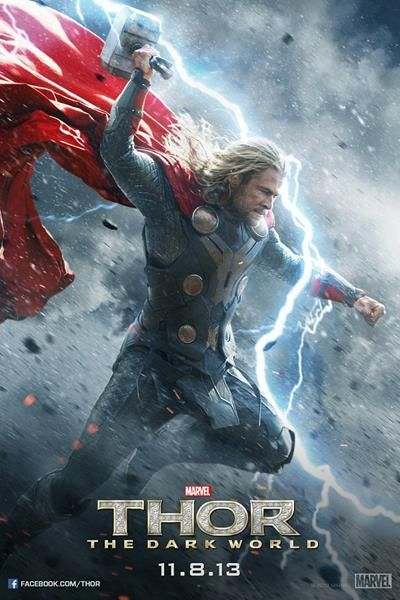 AMC is excited to present the THOR MARATHON on Thursday, November 7 in RealD. Be sure to join AMC and watch as Thor fights to restore order across the cosmos. The marathon starts with THOR at 2:30 PM, MARVEL'S THE AVENGERS at 5:00 PM and the premiere of THOR: THE DARK WORLD at 8:00 PM.