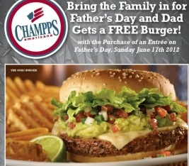Father's Day Freebies 2012 list - Caribou Coffee, Champp's and more-
