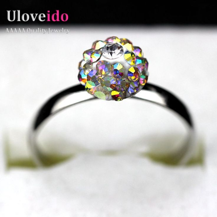 Find More Rings Information about Uloveido 2016 Rings For Women With Ball Multi Stone Black Green Crystal Topaz Yellow Silver Ring Jewelry Anel Feminino BL007,High Quality ring ring ring ring ringtone,China ring crown Suppliers, Cheap ring circle from Ulovestore Fashion Jewelry on Aliexpress.com