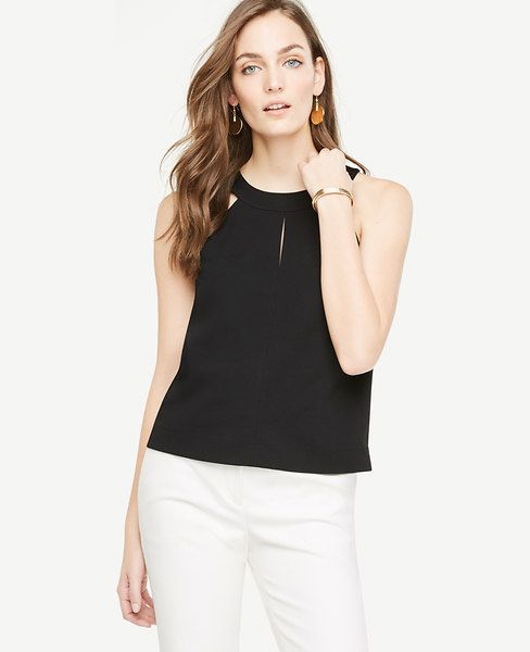Shop Ann Taylor for effortless style and everyday elegance. Our Halter Shell is the perfect piece to add to your closet.
