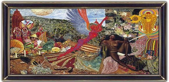 ♫ Santana - Abraxas (1970) Cover Art 'Annunciation' - Mati Klarwein. Read the…