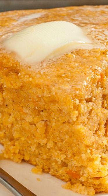 Sweet Potato Cornbread | Recipe | Sweet Potato Cornbread, Cornbread ...