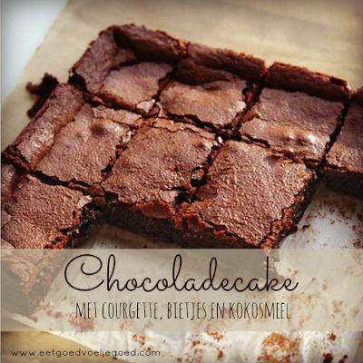 Eet goed, Voel je goed: Bespaar op je Boodschappen Dag #8: Chocoladecake met Courgette en Bietjes