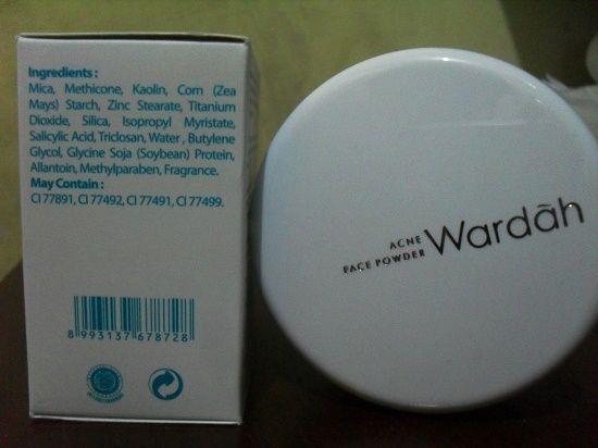Review Wardah Acne Face Powder untuk Anda Pemilik Wajah Berjera