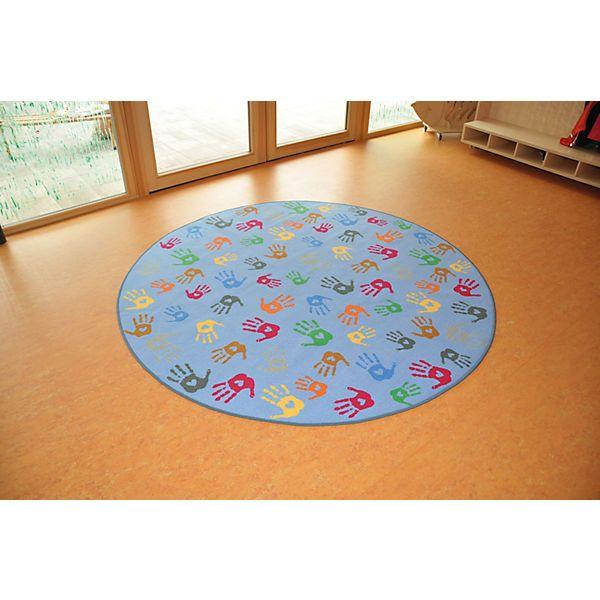 Teppich Hände Rund, 200 cm, Eduplay | myToys