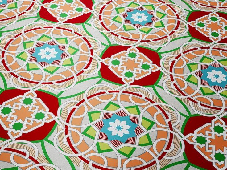 Vector Seamless Oriental Pattern